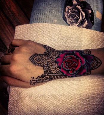 Hand Sleeve Flower Tattoo Ideas | Styles Time