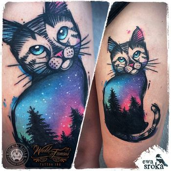 MEOW! The Best Cat Tattoos EVER | Tattoos Beautiful