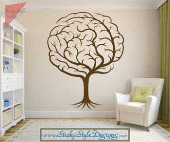 Abstract Brain Tree Decal - Neurology Neuroscience Psychology Medical Doctor Vinyl Wall Art Graphic D