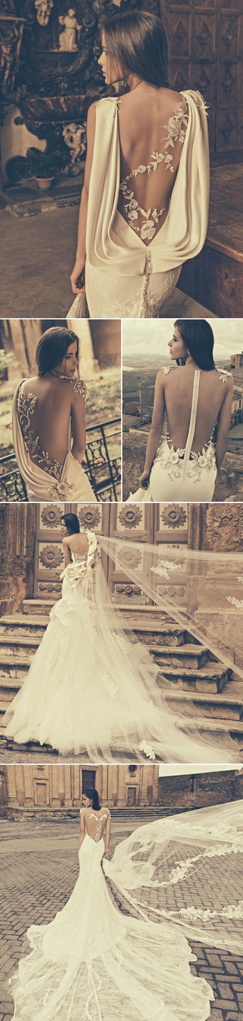 27 Wedding Dresses with Stunning Back Details