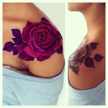 OMG, I've seen this pic before only with the black ink. Now that I've seen it with the pink, I love i