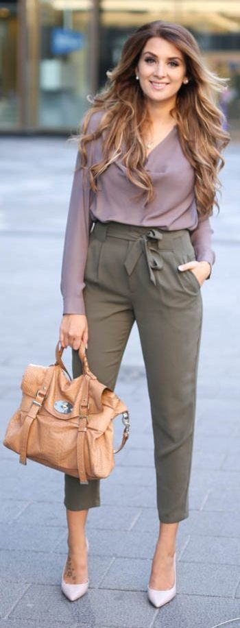 Earth Tones Outfit Idea