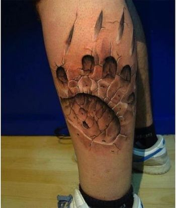 10 Realistic 3D Tattoo Designs - That Will Boggle Your Mind