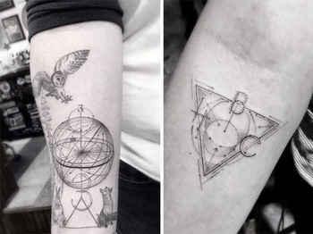 Beautifully Complex Geometric Tattoos by Dr. Woo
