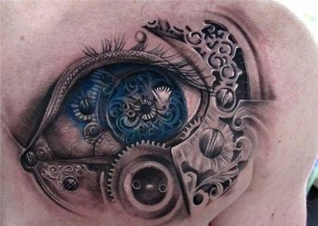 25 Awesome Steampunk tattoo designs | Art and Design