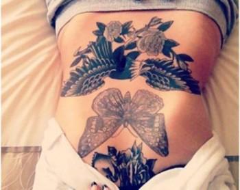 Top 10 Stomach Tattoo Designs