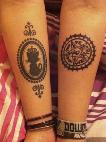 Black Butler Kuroshitsuji tattoo - Tattoos and Tattoo Designs