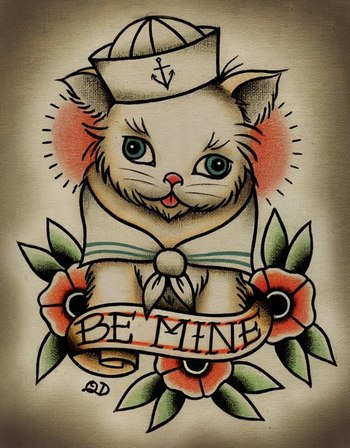 Cat tattoo design. #tattoo #tattoos #ink