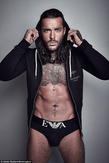 TOWIE Pete Wicks shows off his ripped physique in sexy calendar shoot
