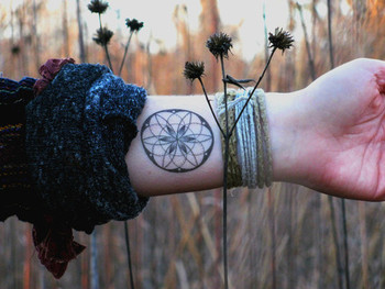 Sacred Geometry Tattoos: - evolver - Serving the global community of cultural creatives
