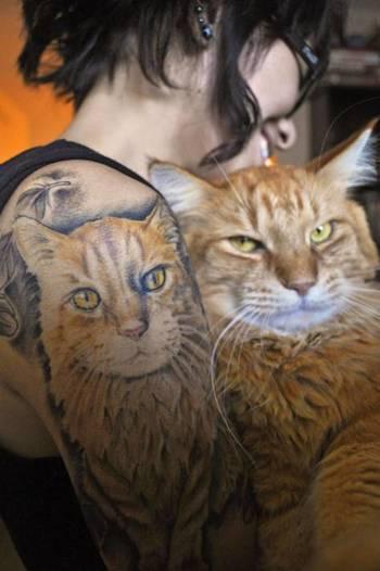 Cat Tattoo Ideas