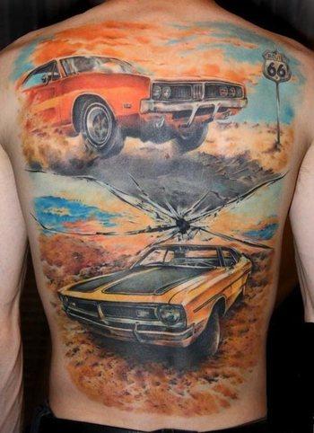 Car Tattoos - Inked Magazine
