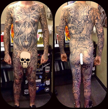 Tattoo Body Suits
