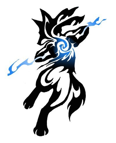 Lucario tribal commission by canyx on deviantart original