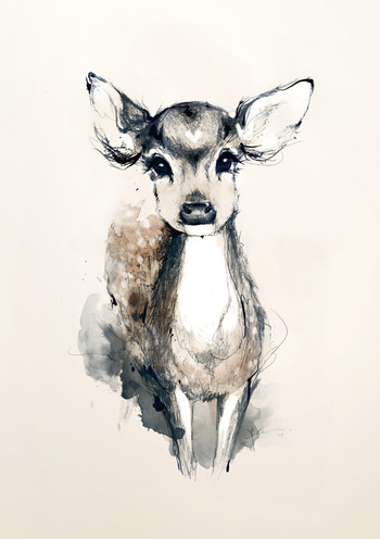 my deer by joanneyoung on deviantART