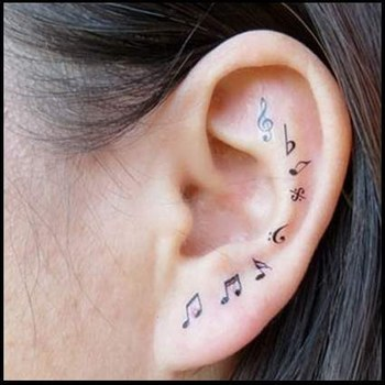 27 Creative And Personal Music Tattoos