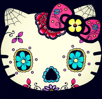 Hello Kitty Sugar Skull