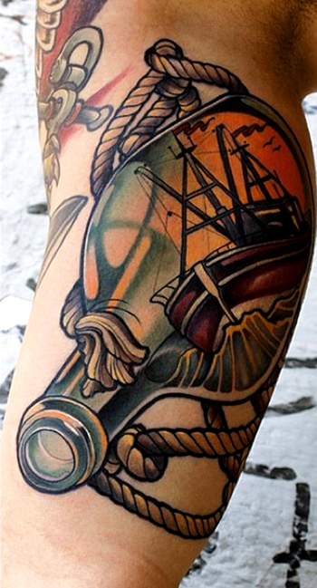 Tattoo done by Marco Schmidgunst. ... - THIEVING GENIUS