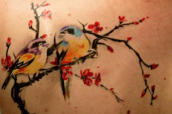 24 Gorgeous Cherry Blossom Tattoos - Pretty Designs