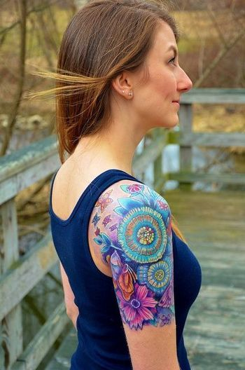 60 Tattoos for Girls 27   womens tattoos, inked girls, tattoos for women, ink inspiration