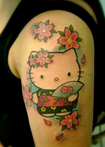 40+ Cute Cherry Blossom Tattoo Design Ideas - Hative