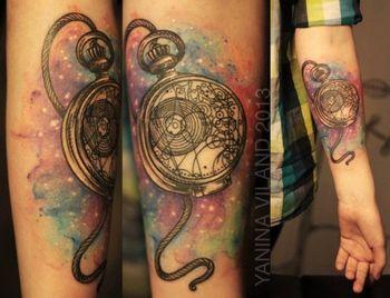 30 Fascinating Outer Space Tattoos - Tattoodo.com