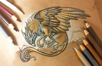 Battle gryphon by AlviaAlcedo on DeviantArt
