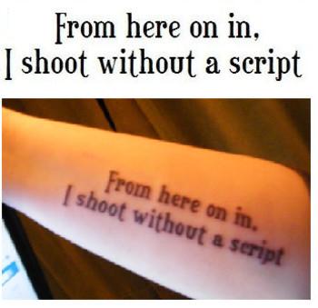 RENT Tattoo by StarMascara on deviantART