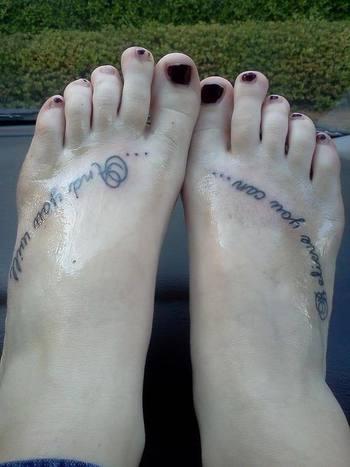 Weightloss/running tattoo | MyFitnessPal.com