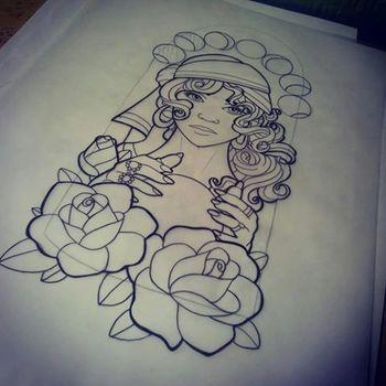 fortune teller tattoo   Hearts and Anchors Tattoo Studio - Codsall - Wolverhampton - Tatuaggi ...