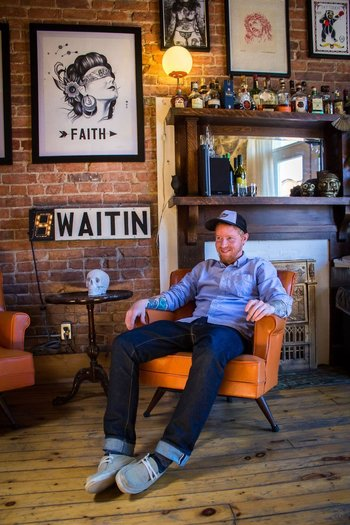 Under My Thumb's Homey Tattoo Studio — Creative Workspace Tour