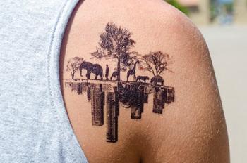 Painless Temporary Tattoos   Cuded