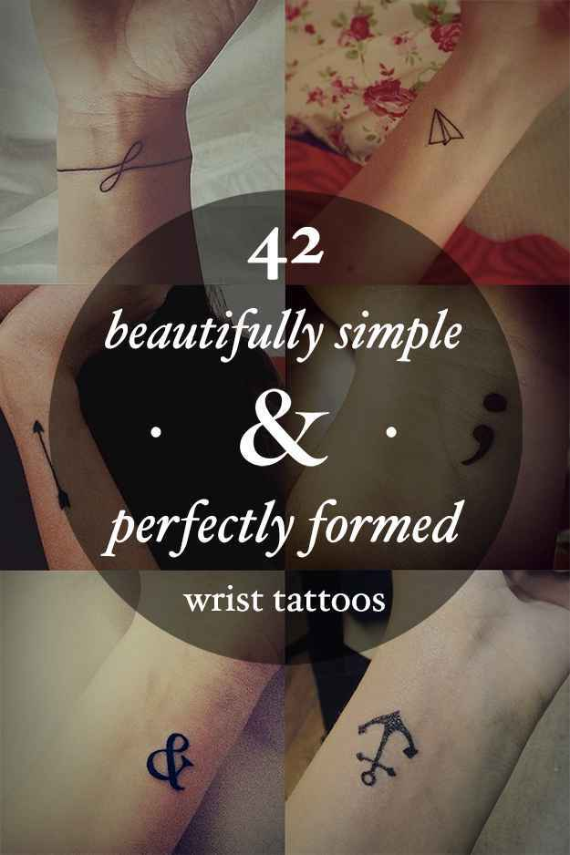 42 beautifully simple and perfectly formed small wrist tattoos fb8306ff 8097 4fbf 895c 26b33008a12d original