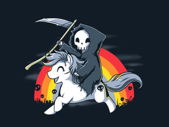 Death is Magic | Funny, cute & nerdy shirts