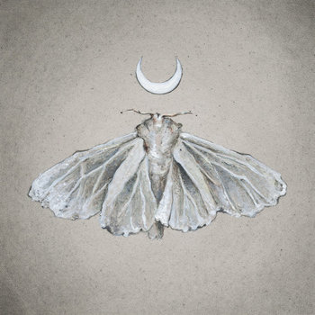Lunar White Moth Print of Oil Painting by tinyartshop on Etsy, $15.00