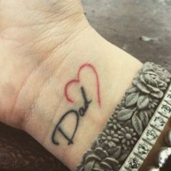 25 Truly Incredible Tattoos to Pay Tribute to Dad (PHOTOS)