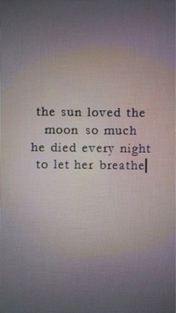 Gallery For > Sun And Moon Love Quotes