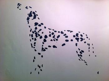 Dalmatian tattoo idea