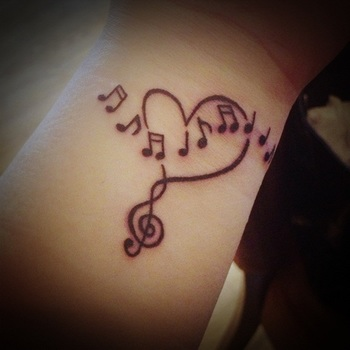 Unique Music Tattoo Design Ideas For Music Lovers