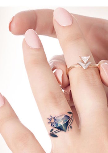 42 Wedding Ring Tattoos That Will Only Appeal To The Most Amazing Of Couples - TattooBlend
