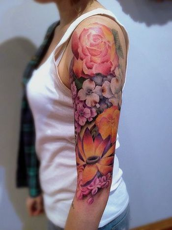 10 Best Flower Tattoos for Your Arms - Pretty Designs