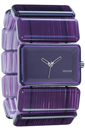 Nixon The Vega Watch in Purple Marble