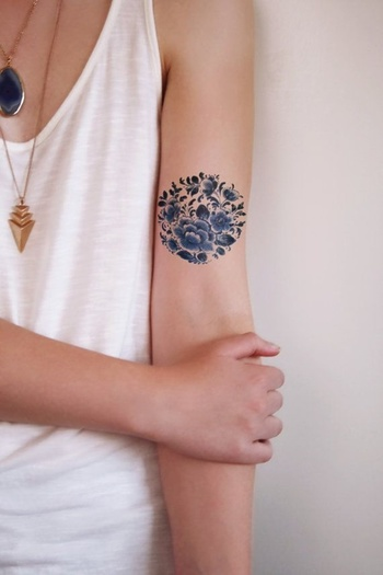 40 Insanely Gorgeous Circle Tattoo Designs