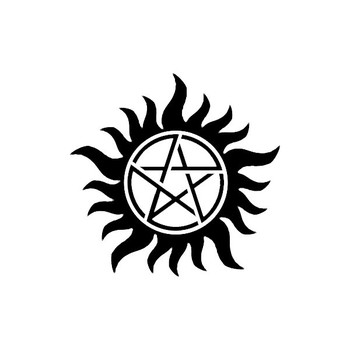 Supernatural tatoo ❤ liked on Polyvore