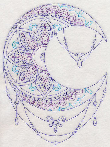 Machine Embroidery Designs at Embroidery Library! - Mehndi Moon