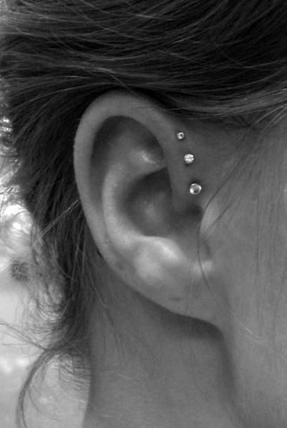 18 cute and unexpected ear piercings original