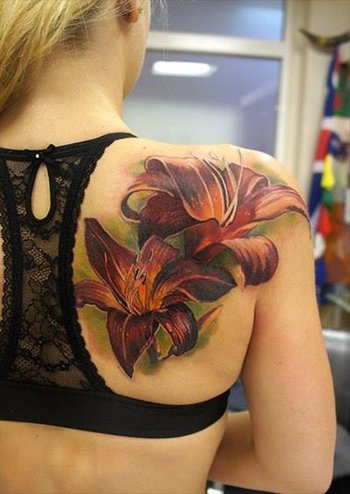 55+ Awesome Lily Tattoo Designs | Art and Design