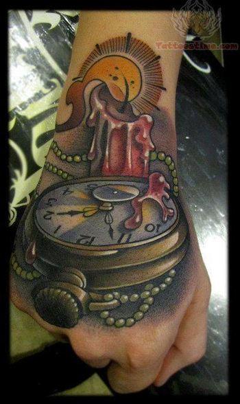 Candle Tattoos - Inked Magazine