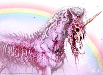 Zombie Unicorn by Austen Mengler
