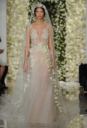 Reem Acra Wedding Dresses Fall 2015: Bridal Fashion Week Photos!